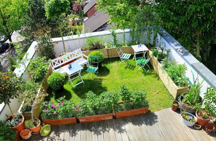 Aumenta la construcci n de jardines en terrazas de casas y for Construccion de casas en terrazas