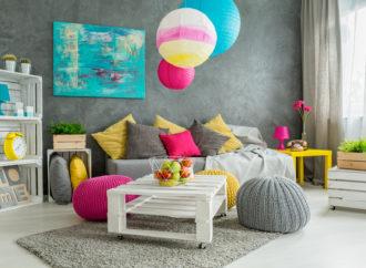 Tu casa colorida sin necesidad de pintar paredes