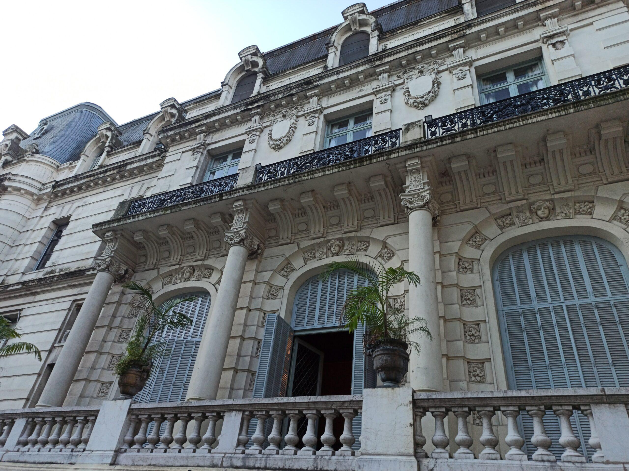 Palacio Paz: el edificio de estilo francés en Retiro